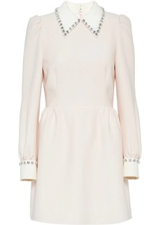Miu Miu embellished collar dress