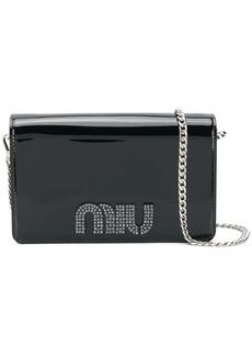 Miu Miu embellished crossbody bag
