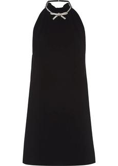 Miu Miu embellished halterneck dress