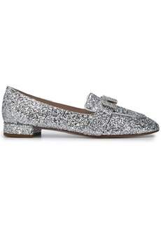 Miu Miu embellished moccasin loafers