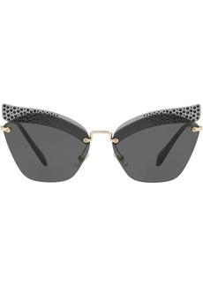 Miu Miu embellished Scenique sunglasses