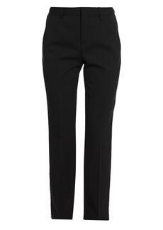 Miu Miu Embellished Tuxedo Stripe Trousers