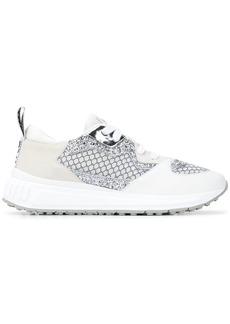 Miu Miu embroidered low-top sneakers