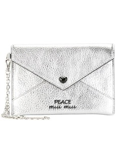 Miu Miu envelope coin purse