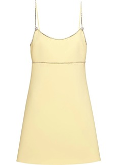 Miu Miu Faille Cady short dress
