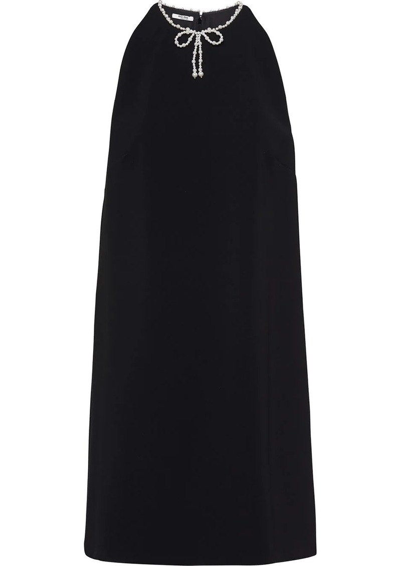Miu Miu Faille mini dress