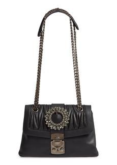 Miu Miu Fendi Grace Matelassé Leather Shoulder Bag