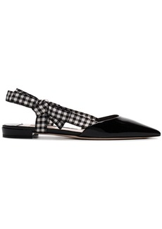 Miu Miu flat point toe sandals