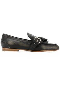 Miu Miu fringed tassel loafers