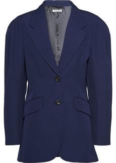 Miu Miu Gabardine oversized blazer