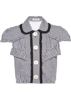 Miu Miu gingham check shirt