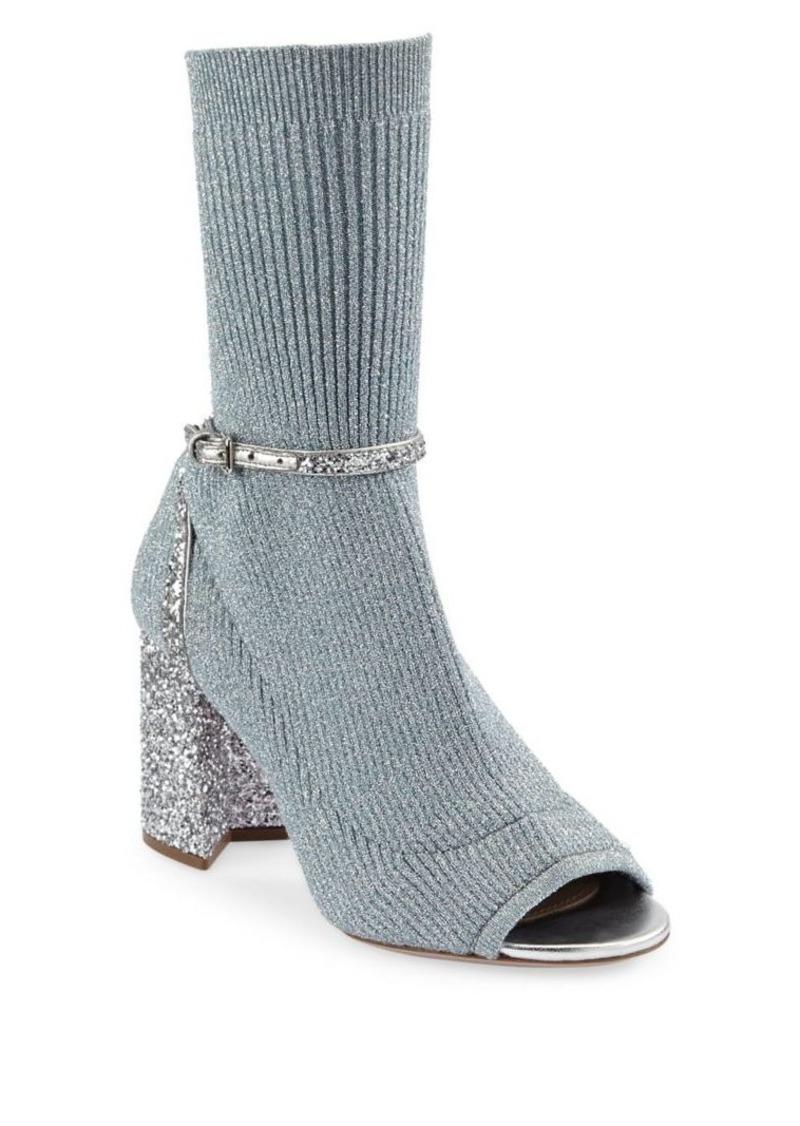 8abab8c02647 Miu Miu Glitter Sock Pumps