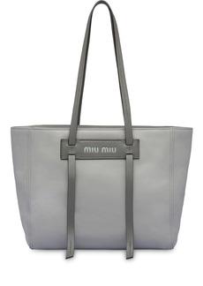 Miu Miu Grace Lux leather tote