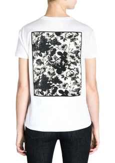 Miu Miu Graphic Back T-Shirt