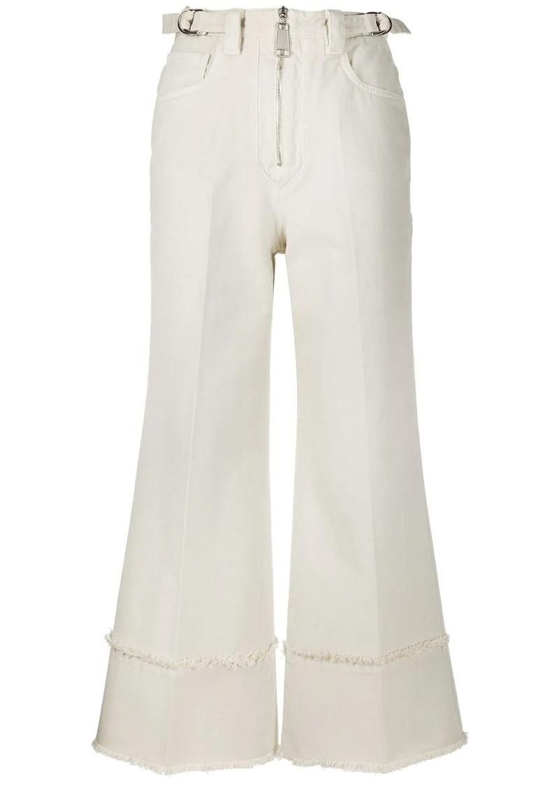 Miu Miu high rise cropped jeans