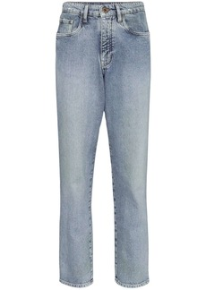 Miu Miu high-waisted boyfriend jeans