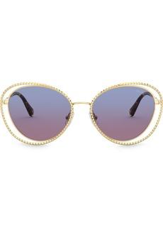 Miu Miu La Mondaine cat-eye sunglasses