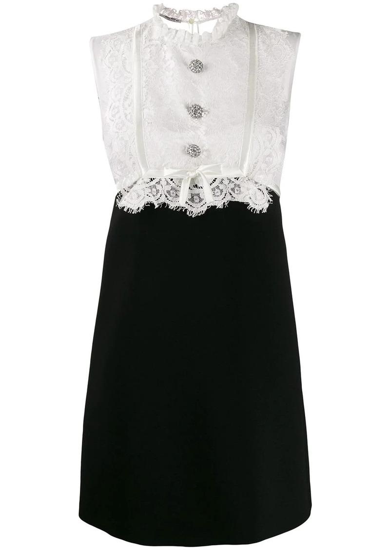 Miu Miu lace top dress