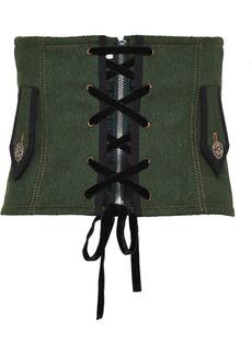Miu Miu Loden corset