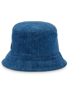 Miu Miu logo patch bucket hat