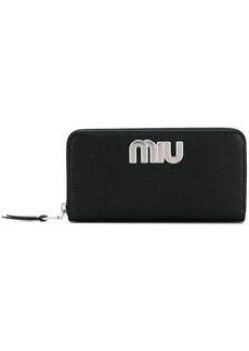 Miu Miu logo wallet