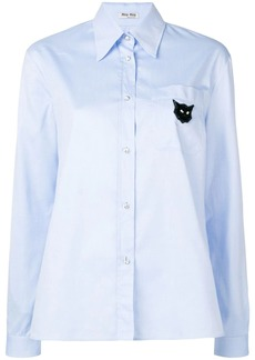 Miu Miu long sleeved shirt