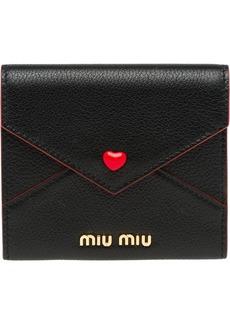 Miu Miu Love Lovo envelope pouch