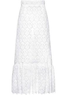 Miu Miu macramé rose skirt
