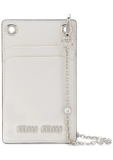Miu Miu Madras mini shoulder wallet