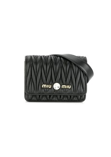Miu Miu Matelassè belt bag