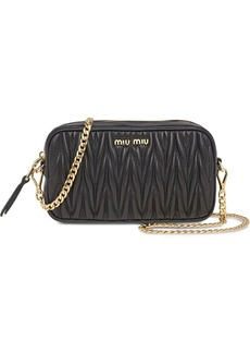 Miu Miu Matelassé belt bag