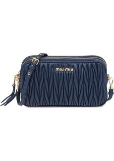 Miu Miu matelassé make up bag