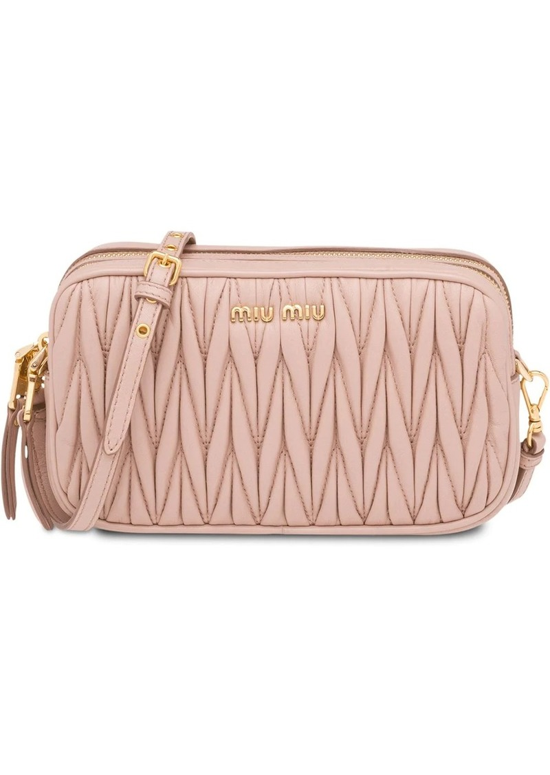Miu Miu Matelassé make-up bag