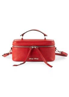 Miu Miu Medium Leather Beauty Satchel