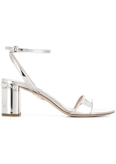 Miu Miu metallic sandals