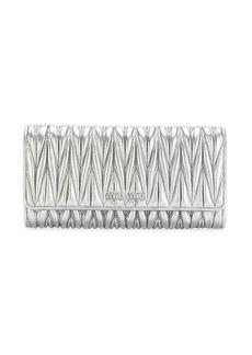 Miu Miu metallic wallet