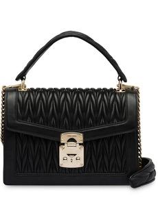 Miu Miu Miu Confidential matelassé leather bag