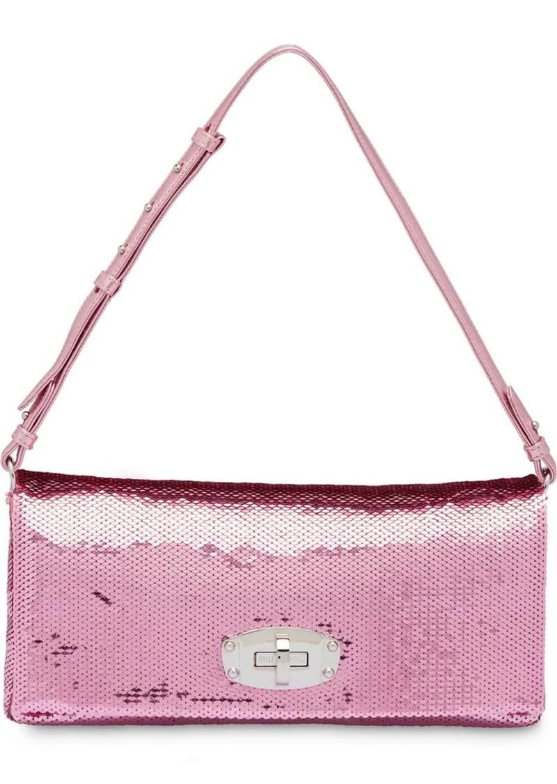 011b8a7287b Miu Miu Miu Crystal sequin shoulder bag