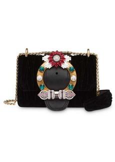 Miu Miu Lady Velvet crossbody bag