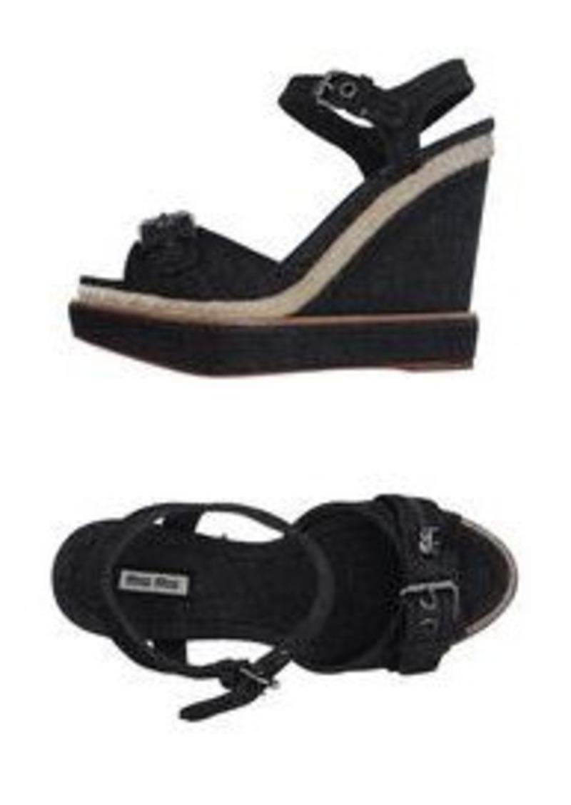 miu miu miu miu espadrilles shoes shop it to me. Black Bedroom Furniture Sets. Home Design Ideas