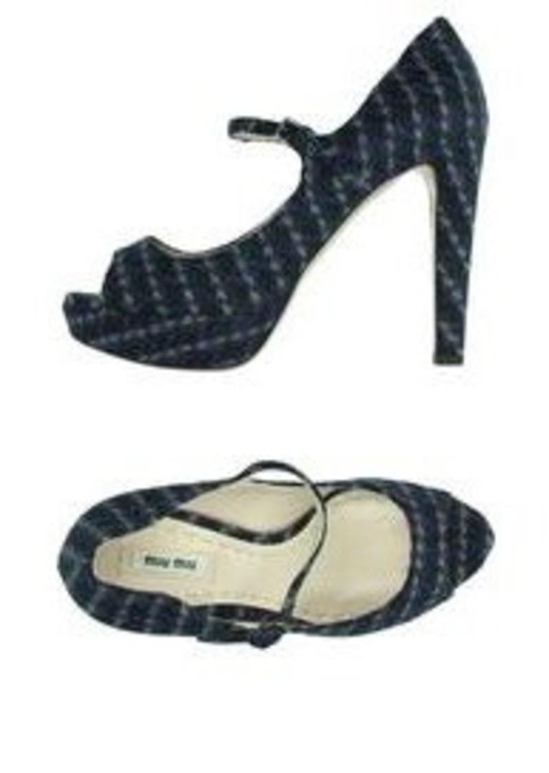 miu miu miu miu pump shoes shop it to me. Black Bedroom Furniture Sets. Home Design Ideas
