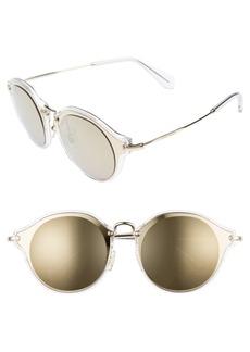 Miu Miu 49mm Cat Eye Sunglasses