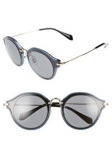 Miu Miu 49mm Sunglasses