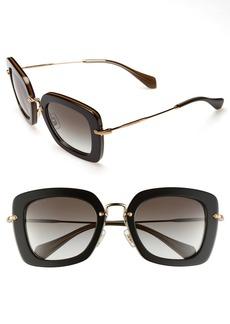 Miu Miu 52mm Retro Sunglasses