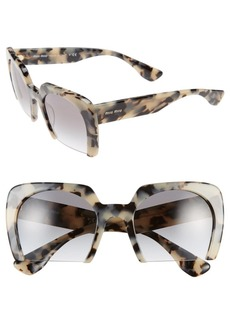 Miu Miu 53mm Sunglasses
