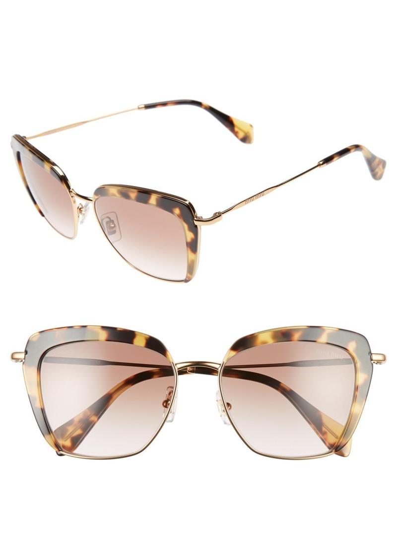 Miu Miu 53mm Sunglasses