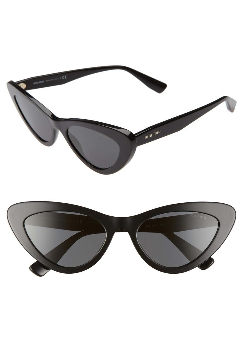 Miu Miu 55mm Butterfly Sunglasses