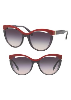 Miu Miu 55mm Cat Eye Sunglasses