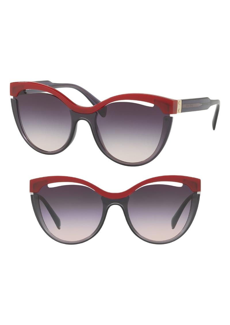 dd8460774fa4 Miu Miu Miu Miu 55mm Cat Eye Sunglasses