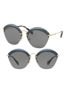 Miu Miu 62mm Sunglasses